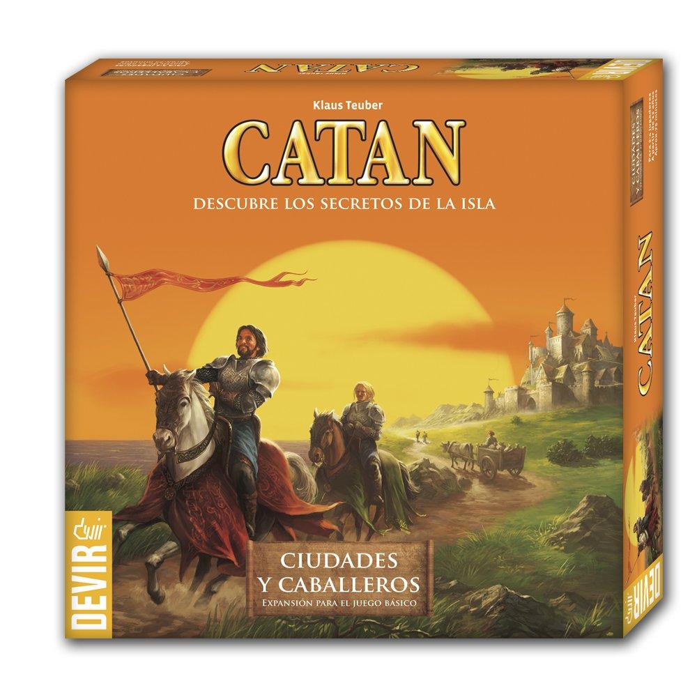 Devir - Expansión Ciudades y Caballeros para Catan, juego de...
