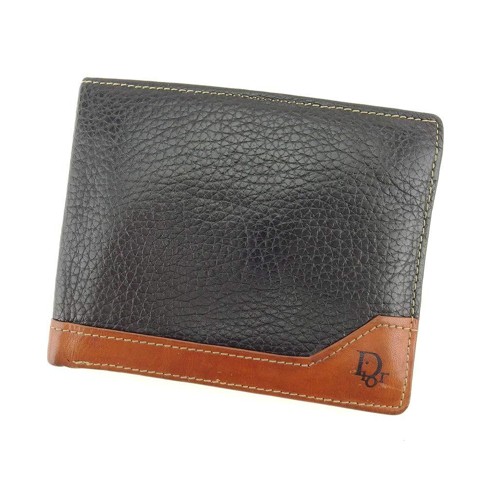 (ディオール) Dior 二つ折り 札入れ 二つ折り 財布 レディース メンズ 中古 ヴィンテージ T9026   B07LFXF2MX