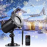 Proyector Navidad LED, Luces de Navidad con Control