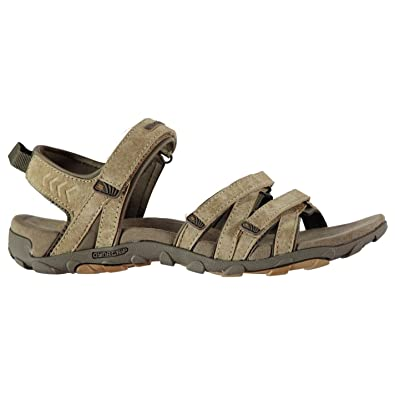 1124039f4 Karrimor Womens Tuvalu Leather Sandals Brown UK 6 (39)  Amazon.co.uk ...