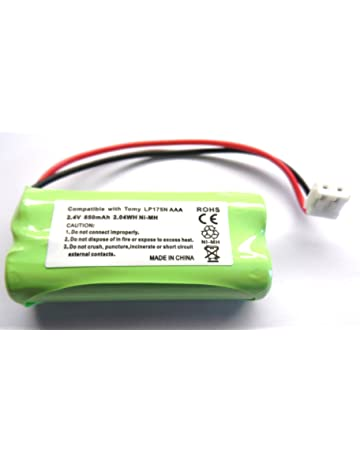 Powery Batterie pour Babyphone Philips Avent SCD600//10 3,7V Li-ION Batterie pour Babyphone