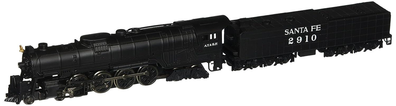 Bachmann Industries Northern 4-8-4 Santa FE Steam Locomotive with Operating Headlight & 52' Tender (N Scale) Bachmann Industries Inc. 58153