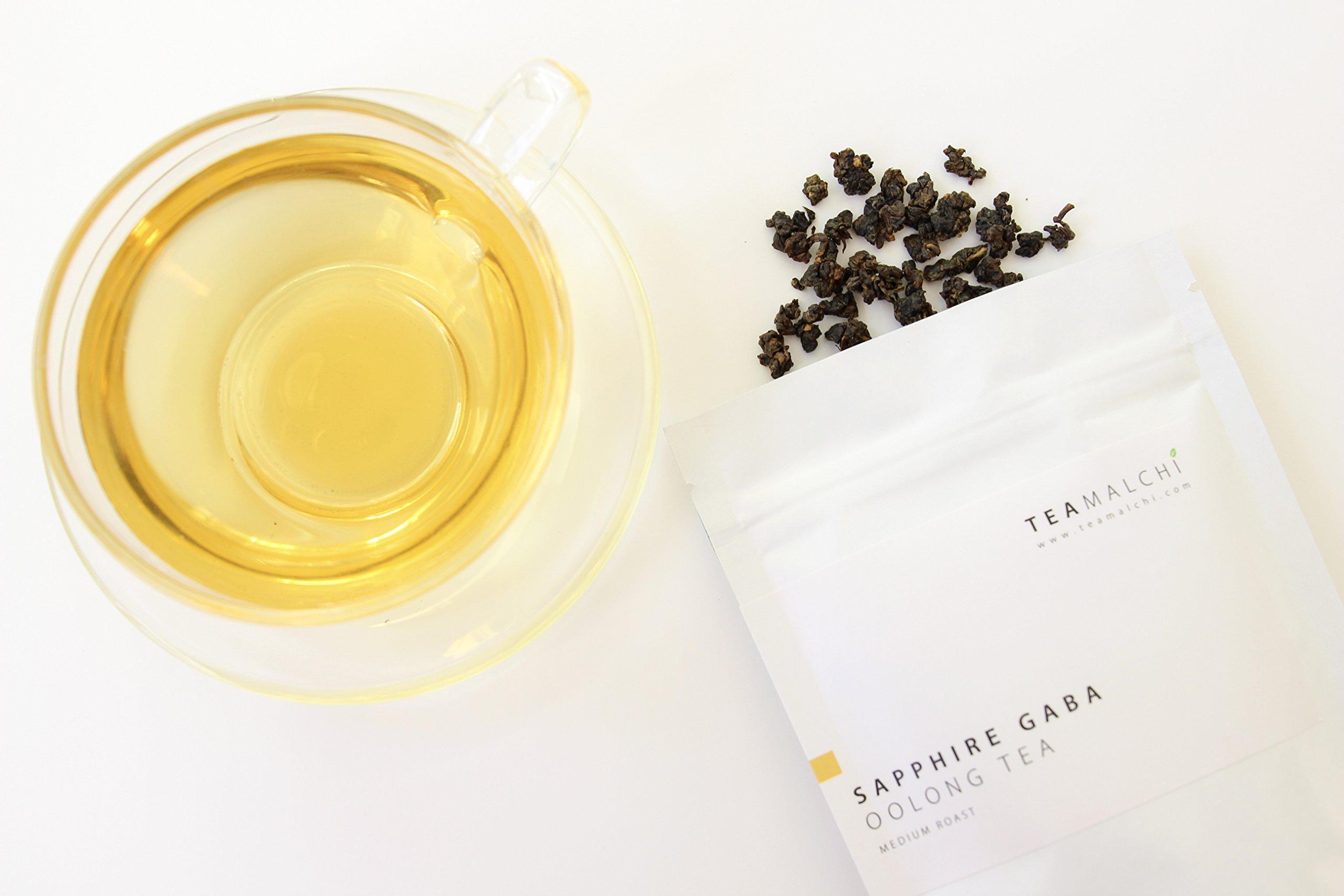 Natural Taiwan High Mountain Sapphire GABA Loose Leaf Oolong Tea, 50g/1.76 oz by TEAMALCHI (Image #7)