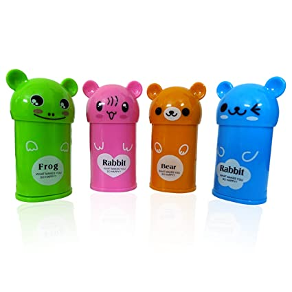Party Propz Teddy Bear Sharpner For Kids Birthday Return Gifts Set Of 8