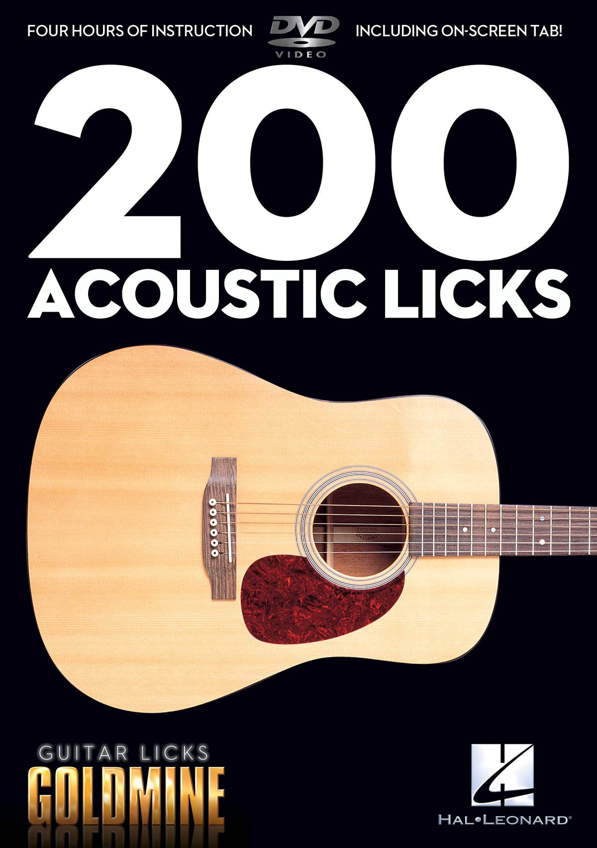 200 Acoustic Licks: Guitar Licks Goldmine