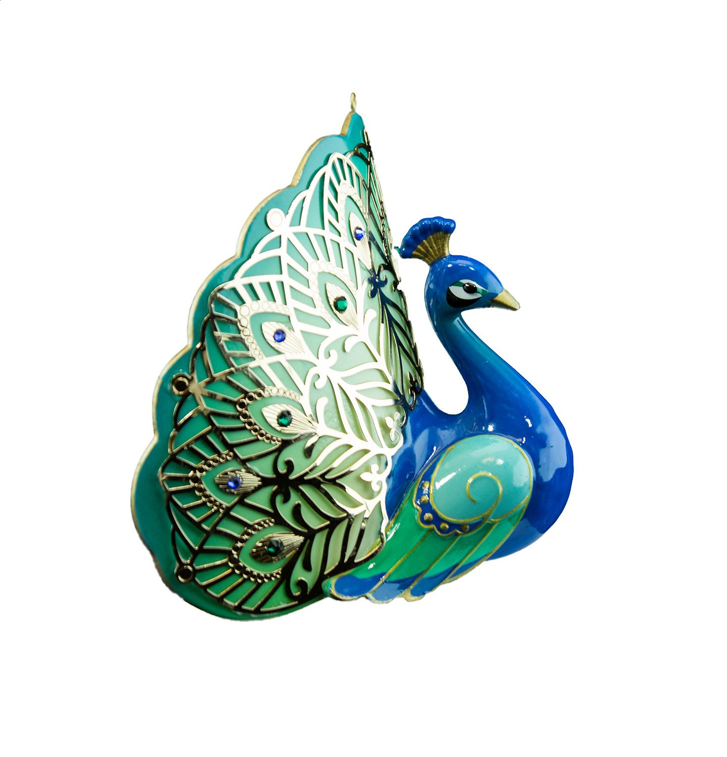 Hallmark 2016 Christmas Ornaments Pretty Peacock