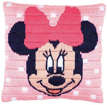 Amazon.com: Disney Minnie Mouse Kit de punto largo cojín ...