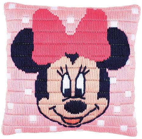 Amazon.com: Disney Minnie Mouse Cushion Long Stitch Kit