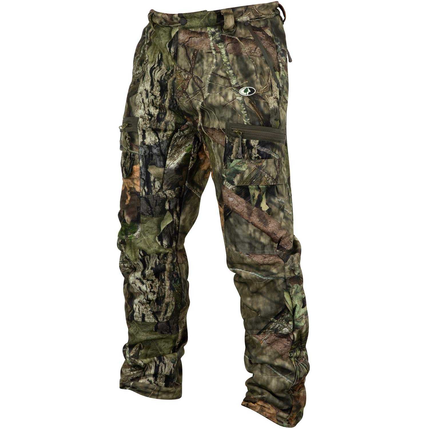 Mossy Oak Sherpa 2.0 Fleece Lined Camo Hunting Pants for Men, Hunting Clothes by Mossy Oak