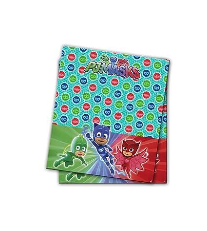 PJ Masks Mantel para decoración de Fiestas (Verbetena 016001314)