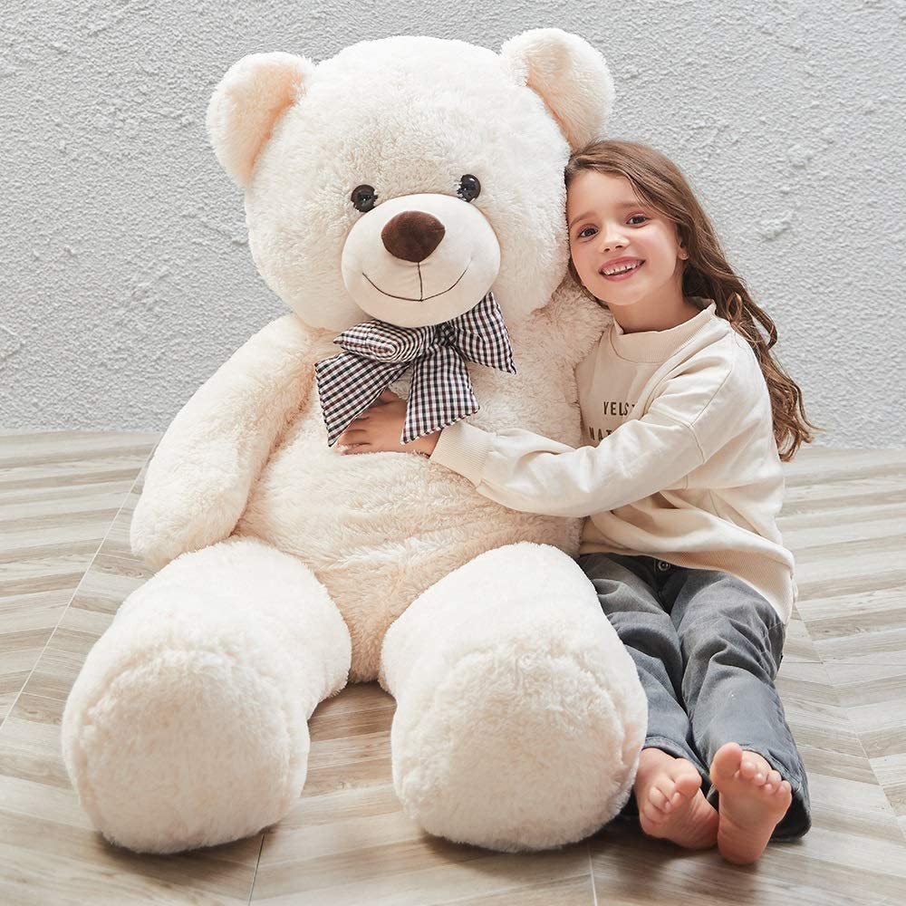 Adorable Brown Teddy Bear Stuffed Animal Toy for All Ages Giant Teddy Bear Huge