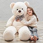 MaoGoLan MorisMos 47 inch Giant Teddy Bear Stuffed Animals Plush Cute