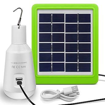 Solaire Panneau EclairageExtérieur 560lmAvec Led PortableAmpoule Pour SolaireJirvyuk Energie Lampe À rWdxoBeC