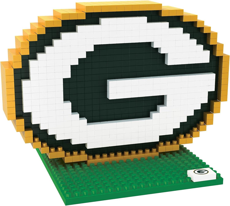 Amazon Com Green Bay Packers 3d Brxlz Logo Clothing