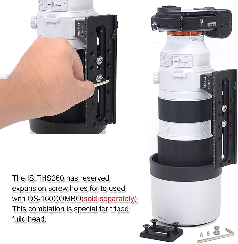 Ishoot Ersatz Objektivfuß Is Ths260 Für Sony Fe 200 600 Kamera