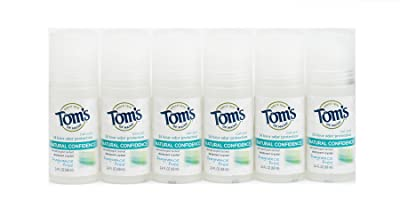 Tom's of Maine Fragrance Free Natural Confidence Roll-On Deodorant