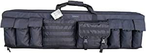 "Explorer 36"" 42"" 46"" 52"" 3 Rifle Tactical Weapon Case Long Shotgun Hunting Bag Pro with YKK Zipper PAT3 Carrying Case Gun Bag Military Backpack Strapsinch"