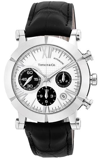 buy online 9aed6 a215f Amazon | [ティファニー] 腕時計 Atlas Gent シルバー/ブラック ...