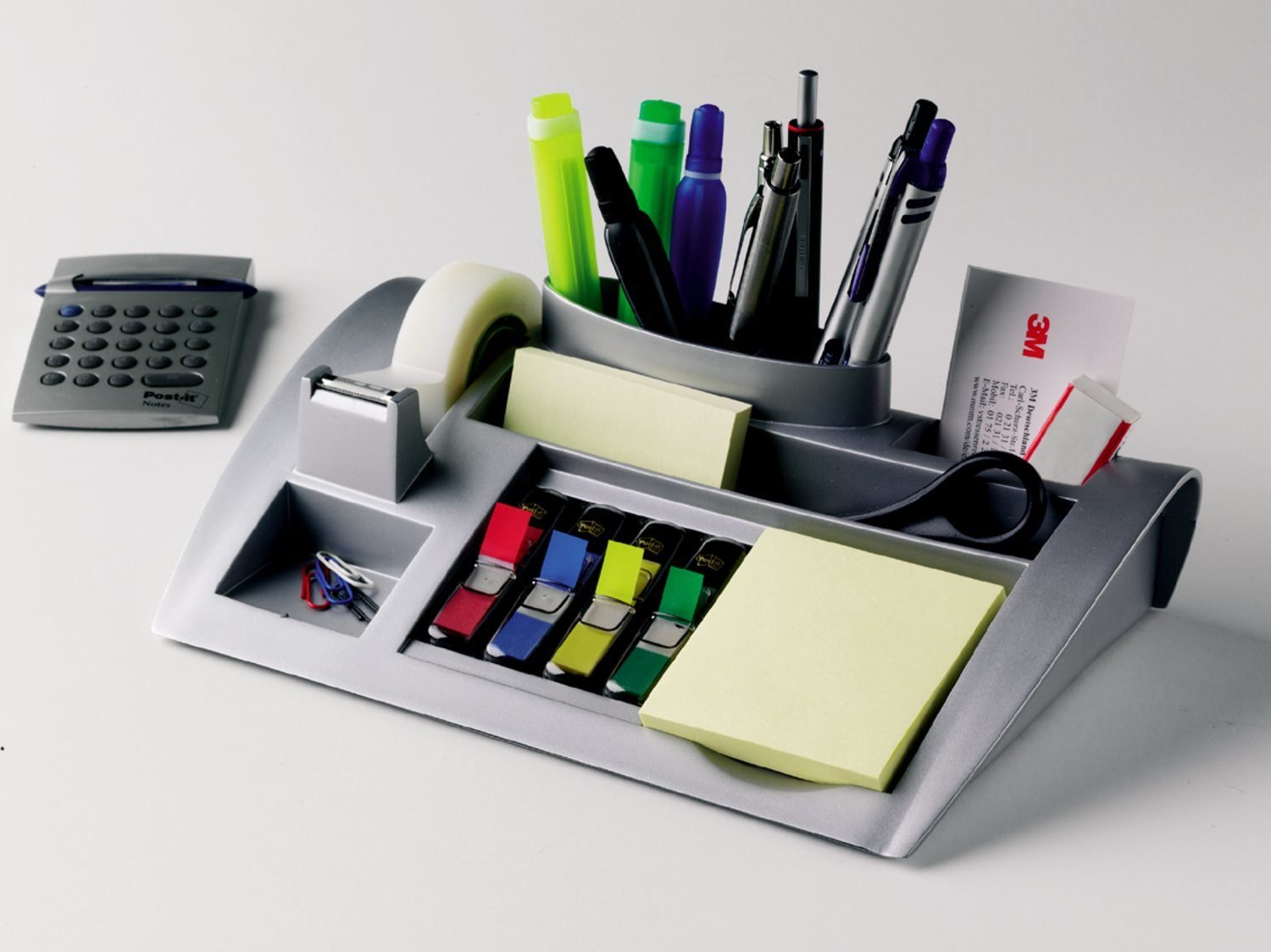 Post-it Desktop Organizer, Keep your desk or common area organized with this convenient desk organizer (C50)
