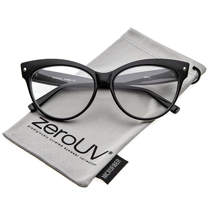 Amazon.com: zeroUV – Mujer Oversize De Ancho Brazos Lente ...
