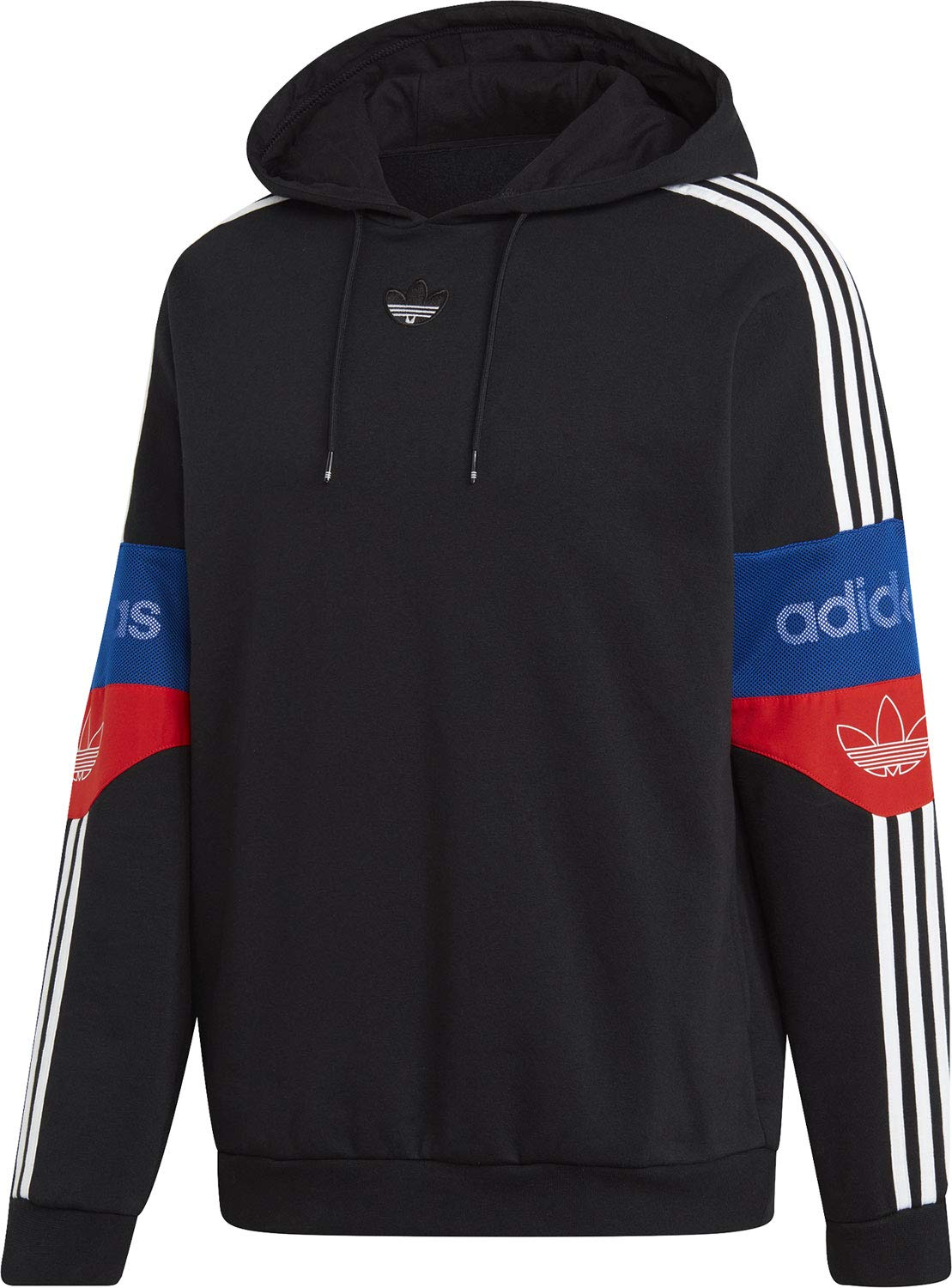 adidas Sweat à Capuche Team Signature Trefoil: Amazon.it