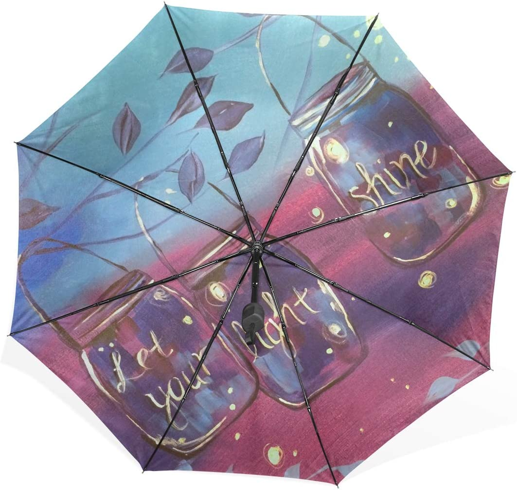 Uotdoor Umbrella Let Your Light Shine At Lone Star Texas Grill Portable Compact Folding Umbrella Anti Uv Protection Windproof Outdoor Travel Women Umbrella Double Layer Inverted