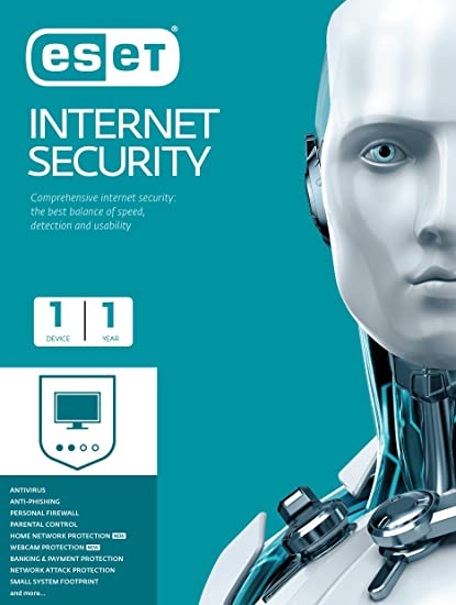 ESET Internet Security - 1 User, 1 Year (CD)