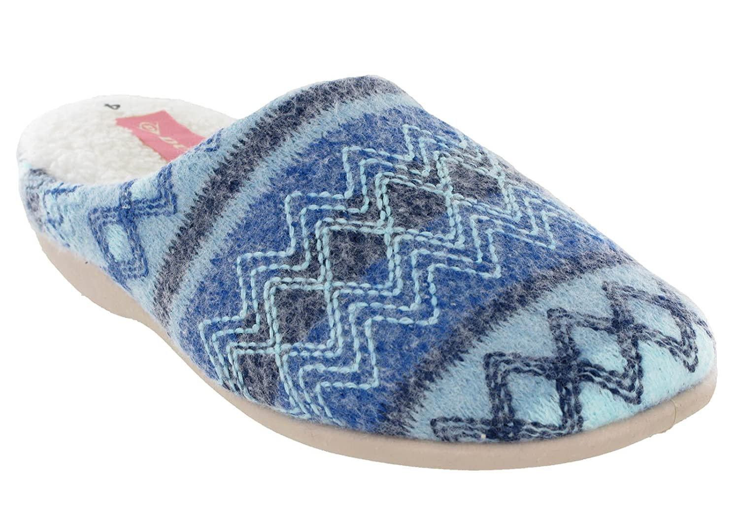 Dun , 5460 Chaussons Chaussons , pour femme Bleu 9973287 - latesttechnology.space