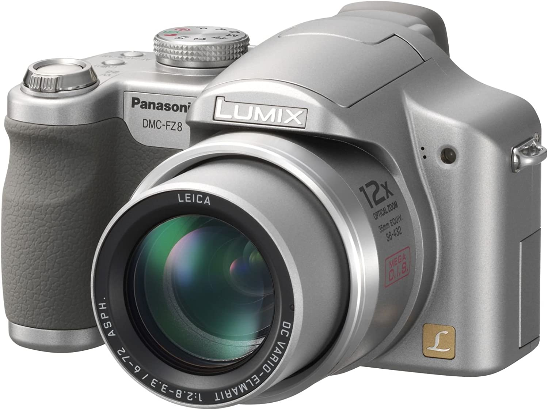 Panasonic Dmc Fz8 Eg S Digitalkamera 2 5 Zoll Kamera