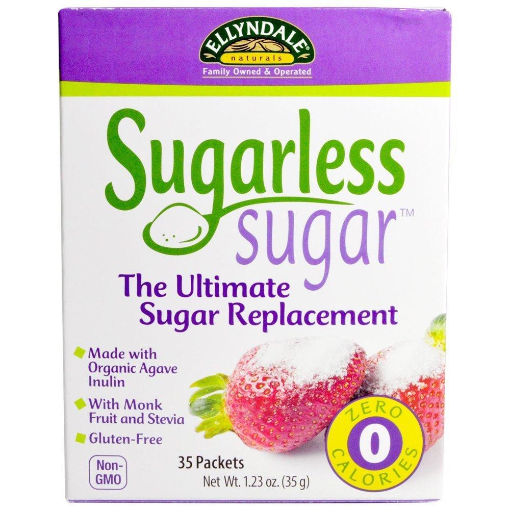 Sugarless Sugar Packets with Monk Fruit Ellyndale Foods 35 Box by Ellyndale Organics