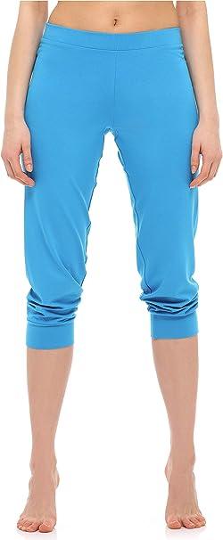 Merry Style Leggings 3//4 Pantaloni Capri Donna MS10-261