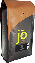 WILD JO: 2 lb, Dark French Roast Organic Coffee, Ground Coffee,
