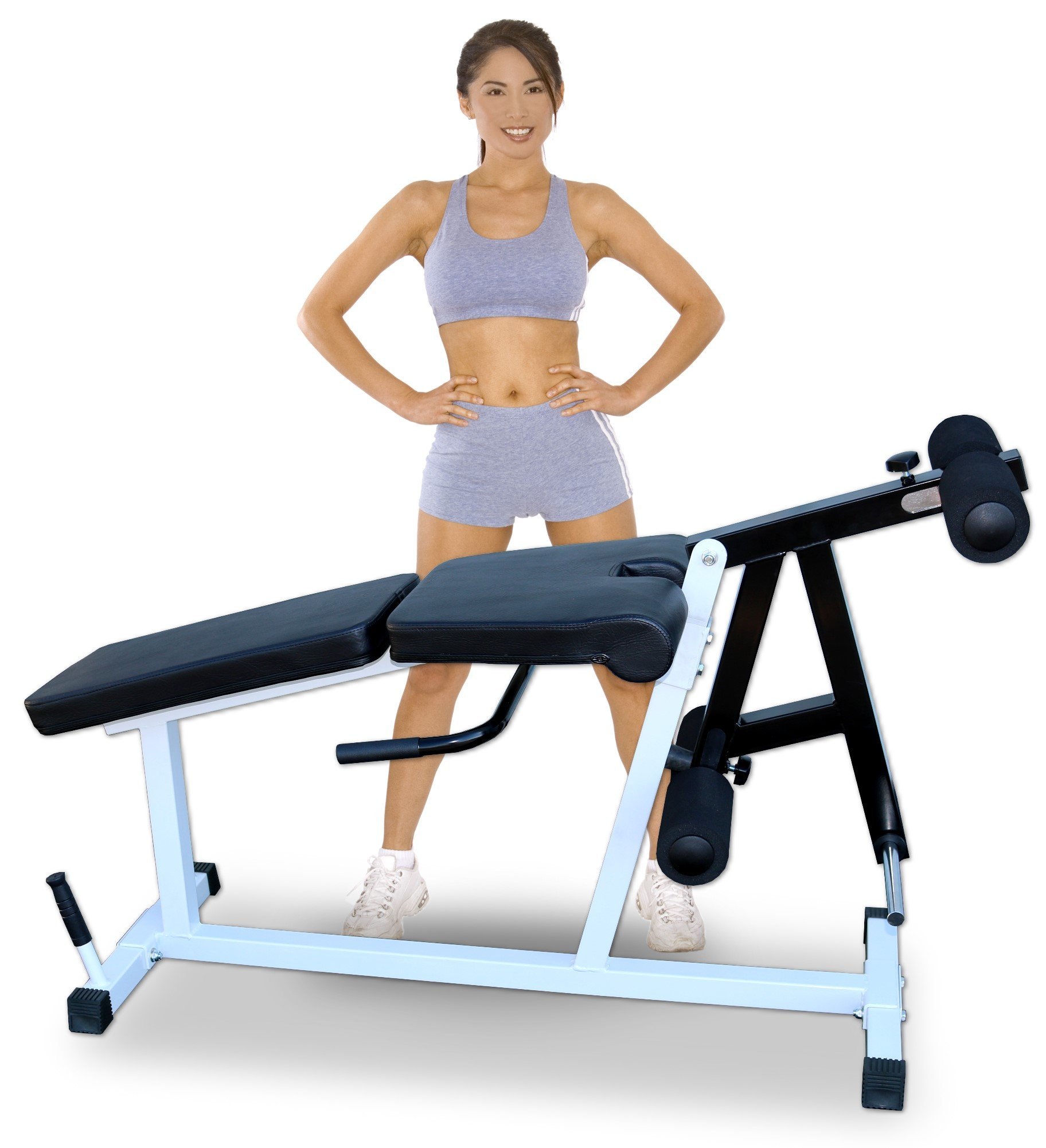 Deltech Fitness Leg Extension / Leg Curl Machine by Deltech Fitness