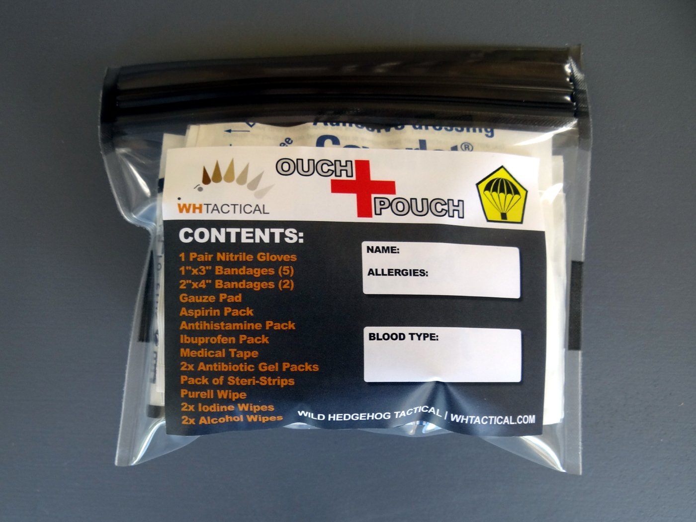 Ouch Pouch Waterproof First Aid Kit