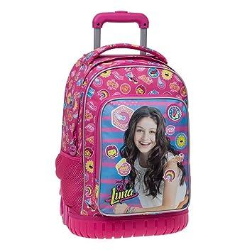 Disney 3392951 Yo Soy Luna Mochila Escolar, 29.57 litros, Color Rosa: Amazon.es: Equipaje