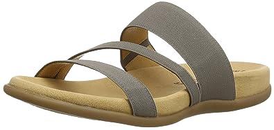 Shoes 23.702.80 Damen Peep-Toe Sandalen, Grau (Fumo), Größe: 41 Gabor