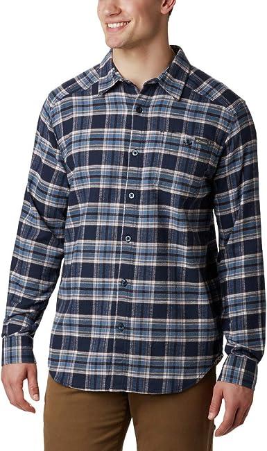 Columbia Cornell Woods Camisa de manga larga de franela para hombre: Amazon.es: Ropa y accesorios