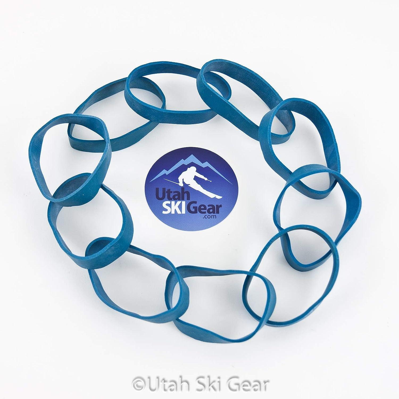 Utah Ski Gear 10 Pack Rubber Brake Retainers