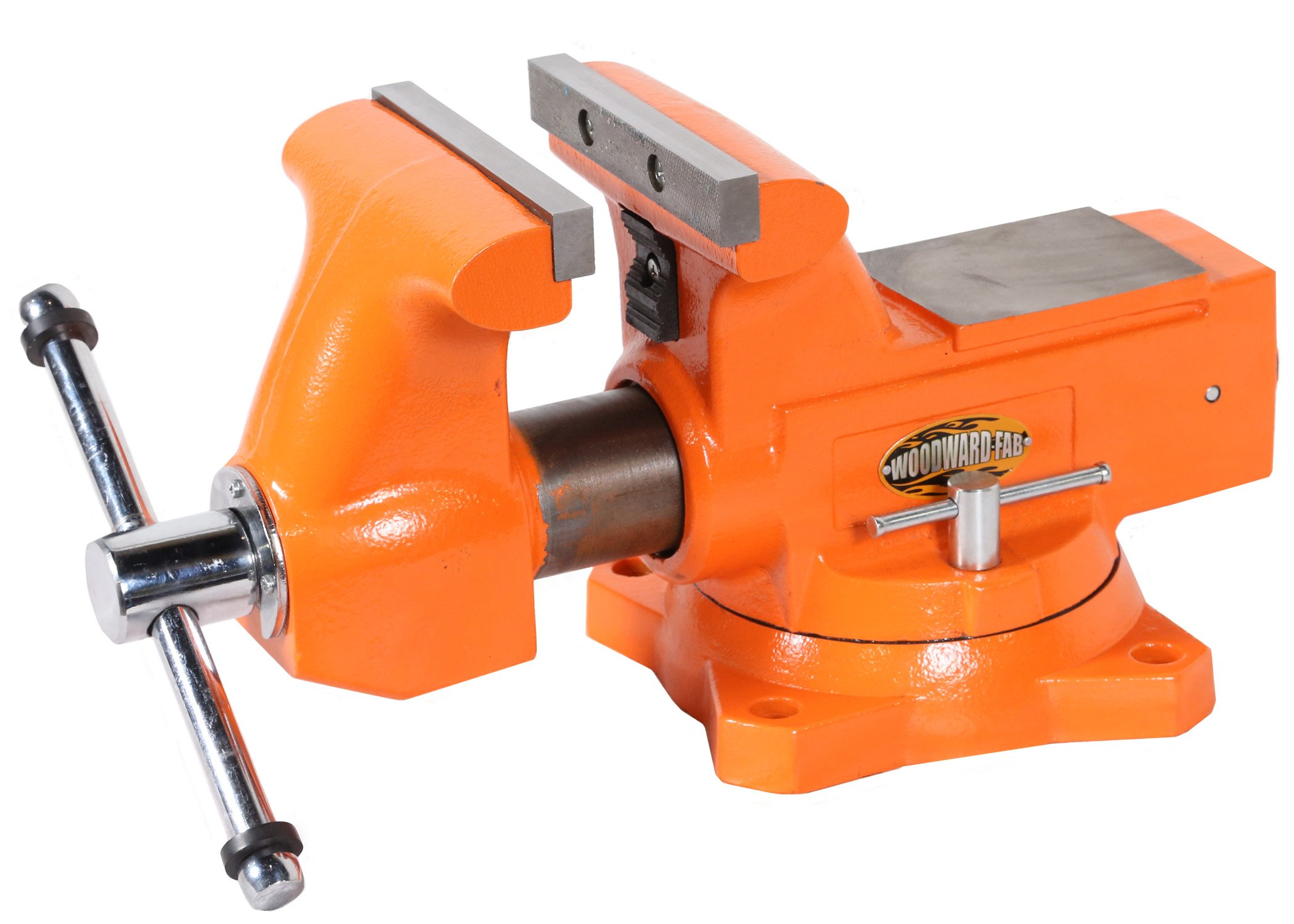 Woodward Fab WFV6.5 Bench Vise, 6-1/2'' Jaws, Solid Cast Iron by Woodward Fab