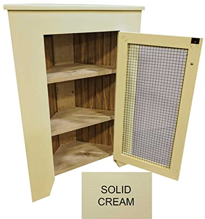 Amazon.com: Sawdust City Small Kitchen Corner Cabinet (Solid ...