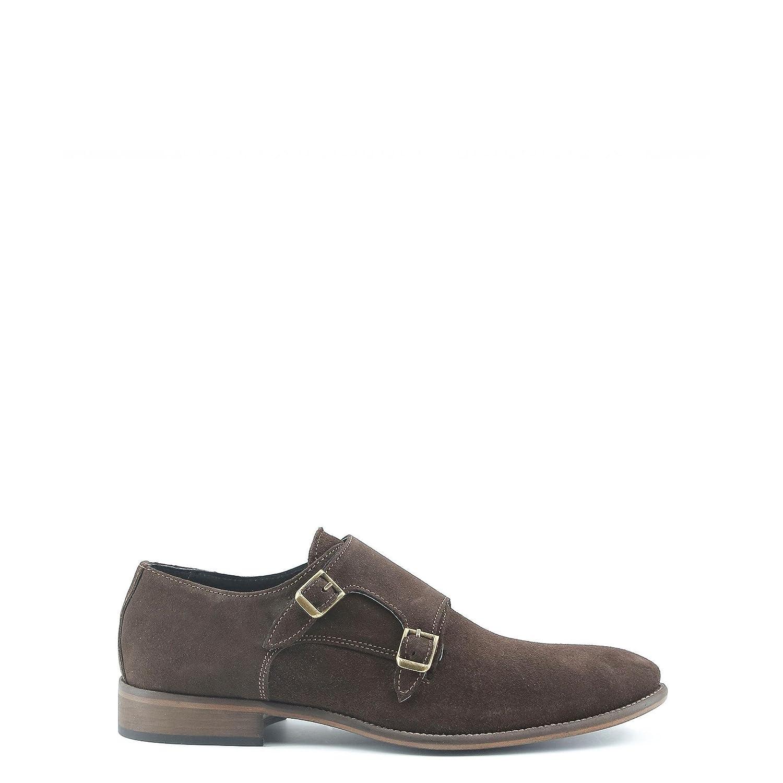 Made in Italia - DARIO Zapatos Del Correa Monje Para Hombre 46 EU Marrón