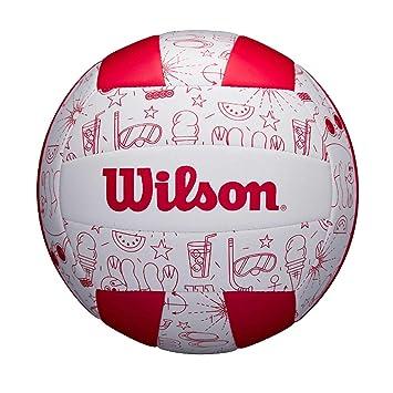 Wilson WTH10320XB Balón de Voléibol, Seasonal , Uso Exterior ...
