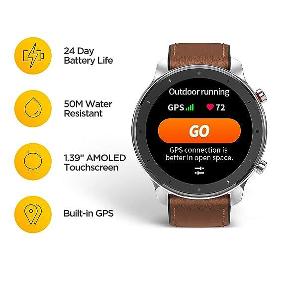 Xiaomi Amazfit GTR Reloj Smartwatch Deportivo | 20 días de batería ...