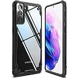 """Ringke Fusion-X Compatible con Funda Galaxy S21 Plus 5G (6.7"""") Carcasa Protección Resistente Impactos TPU + PC Case - Black"""