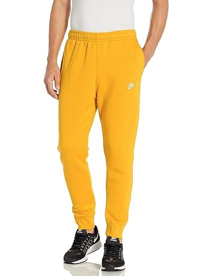 Nike M NSW Club Jggr Ft Sport Trousers, Hombre, dk Grey HeatherMatte Silver(White), S