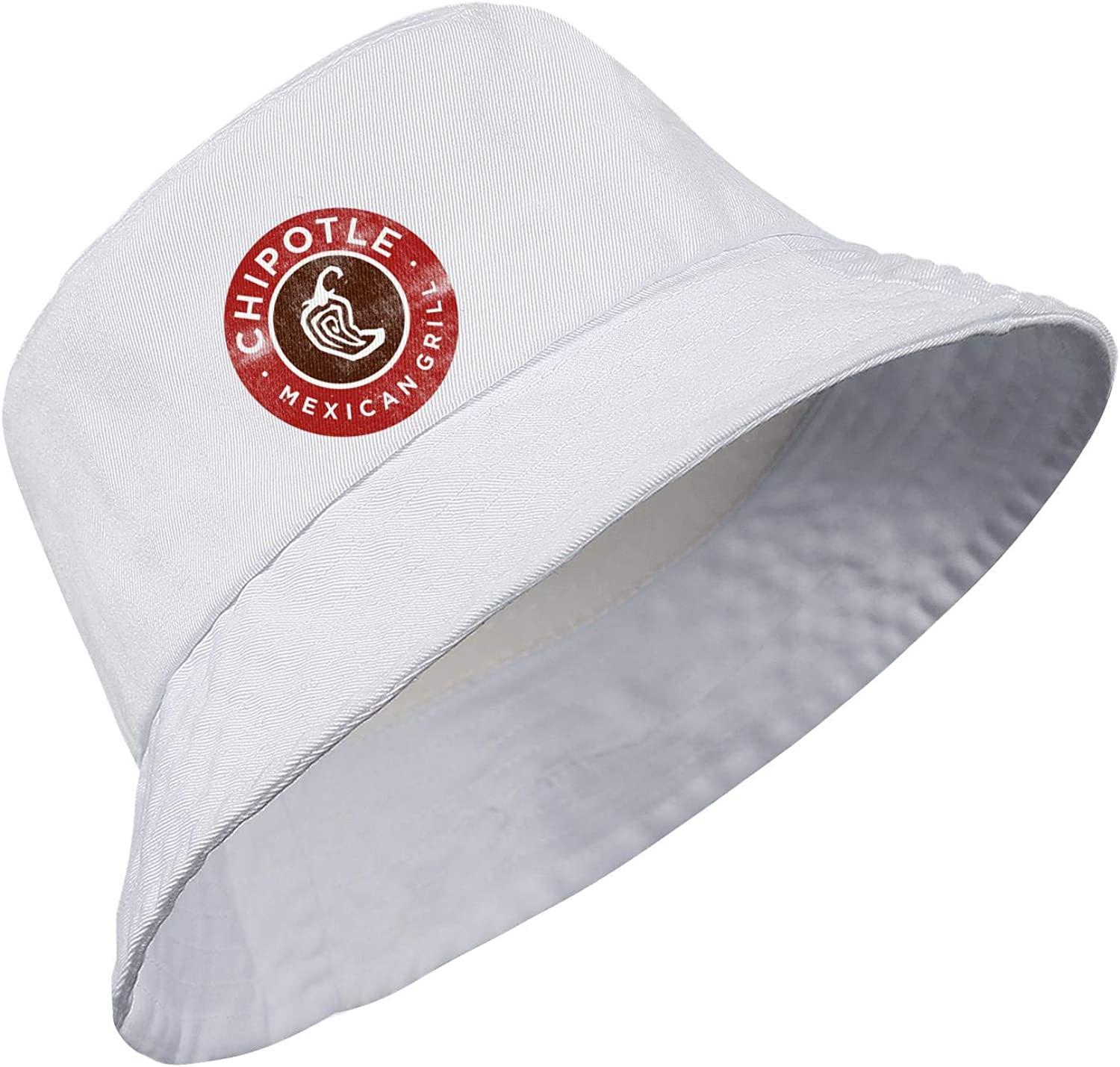 Mens Womens Fashion Basin Hat Mexican-Chipotle-Grill-Burritos-CMG Washed Cotton Sun Cap