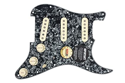 920D Custom Shop Jeff Beck Loaded Pickguard, Hot Noiseless, TBX, Blender Pot
