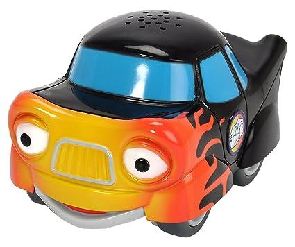 DICKIE Toys 203121001 Héroes de la Ciudad – Tobi Turbo eléctrico Juguete Auto Incluye Tarjeta de