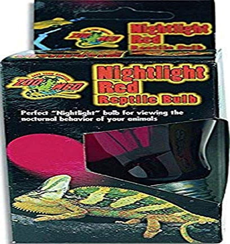 Zoo Med Nightlight Red Reptile Bulb 100 Watts