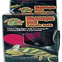 Zoo Med Nightlight Red Reptile Bulb, 100-Watt